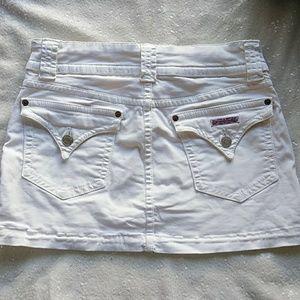 Crisp white Hudson skirt
